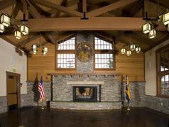 Craftsman Style Lodge Interior
