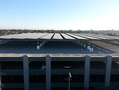 Pre Engineered Solar Parking Structure