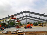 Erecting Steel Building