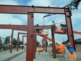 Steel Carwash Facility