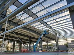 San Diego Hangar Roof Installation