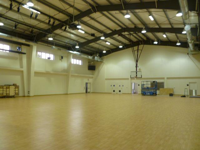 Multi Purpose Gymnasium Interior