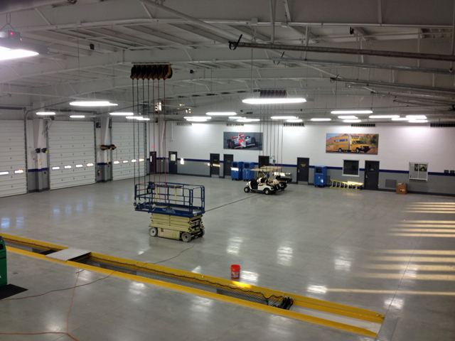 State of the art maintenance garage facility builders