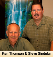 Ken Thomson and Steve Sindelar