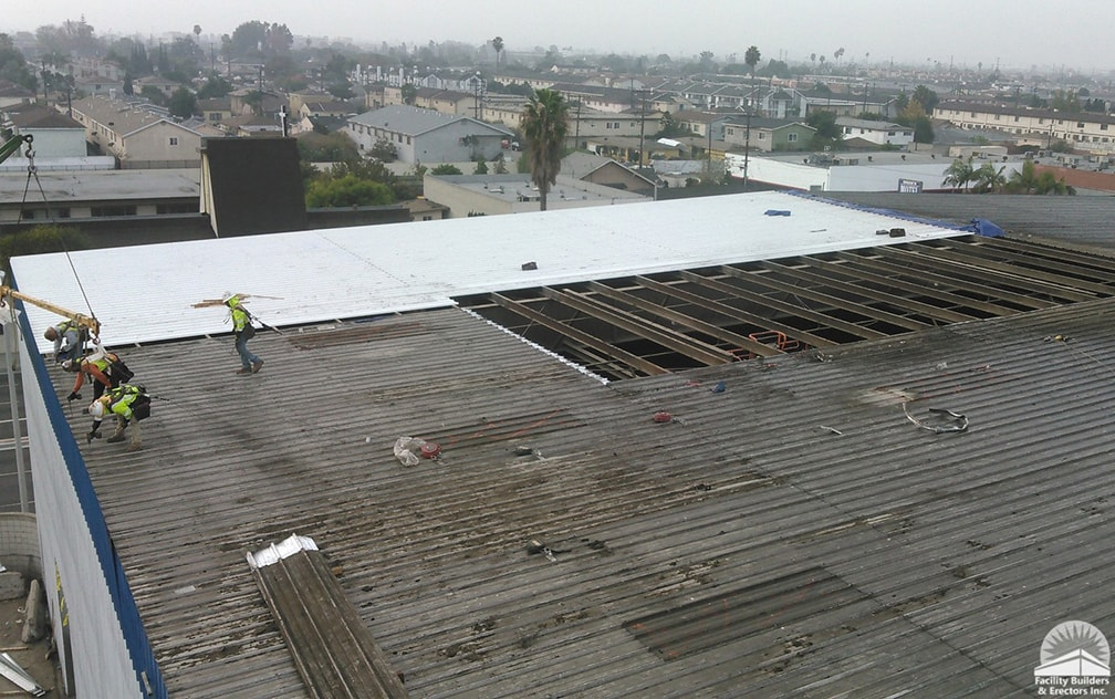 reroof maintenance during