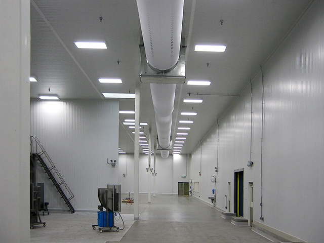 Food Processing Plant Interior