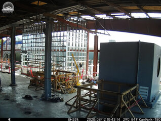 Interior Construction Timelapse - SD Waste and Refuse